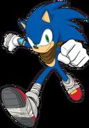 Sonic 2D Sonic Boom render