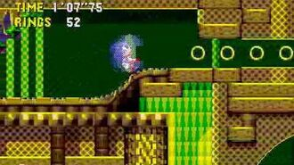 Sonic CD Stage 4 - Quartz Quadrant Zone