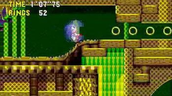 Sonic CD Stage 4 - Quartz Quadrant Zone
