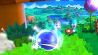 Sonic Spin Charge - Smash for Wii U