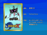 Sonic X karta 85