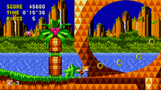 Tails in Palmtree Panic
