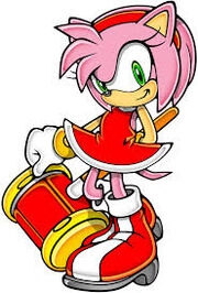 Amy w Sonic Adventure