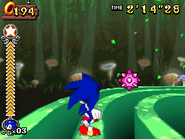 Grinding 3D (Sonic Rush Adventure)