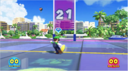 Mario & Sonic at the Rio 2016 Olympic Games - Luigi Duel Rugby Sevens