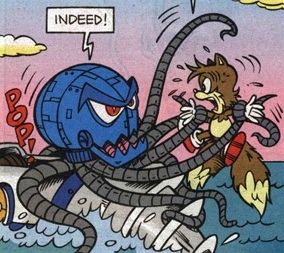 Octobot Sonic News Network Fandom