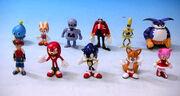 SegaToys SonicX Figures