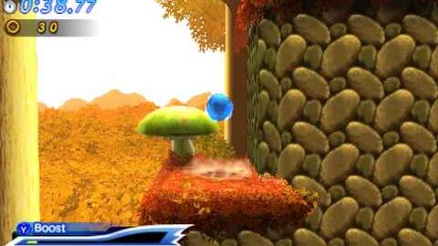 Sonic Generations 3DS - Modern Mushroom Hill