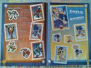 Sonic Sticker Collection pages 18-19