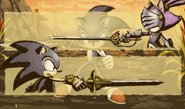 Sonic vs. Percival