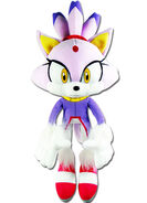 GE Blaze the Cat plush