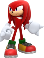 Knuckles - Sonic Forces Artwork