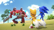 S1E33 Tails Sonic Robot
