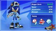 Slugger Sonic Stats