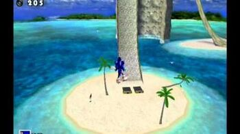 Sonic Adventure DX (GC) Sonic - Emerald Coast Missons Level B and A