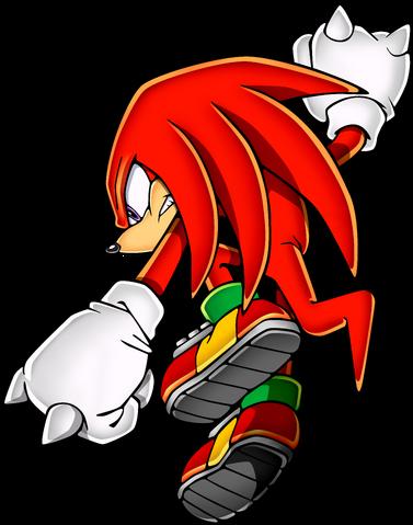 File:Sonic Art Assets DVD - Knuckles - 3.png