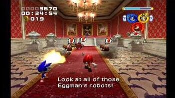 Sonic Heroes Mystic Mansion (Team Sonic)