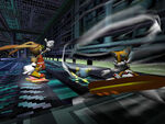 Sonic Riders - Cream - Level 2