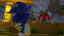 Sonic vs Zavok cutscene
