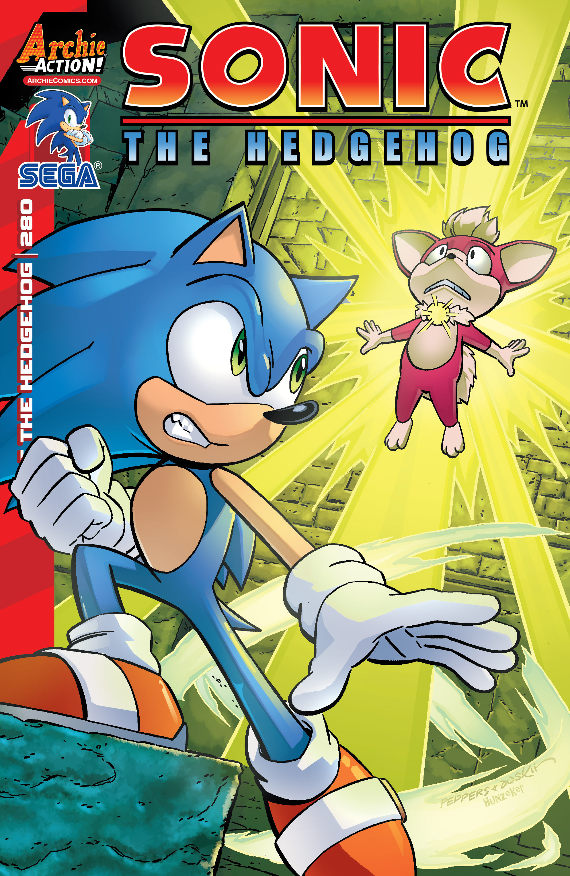 archie sonic the hedgehog issue 280 sonic news network fandom