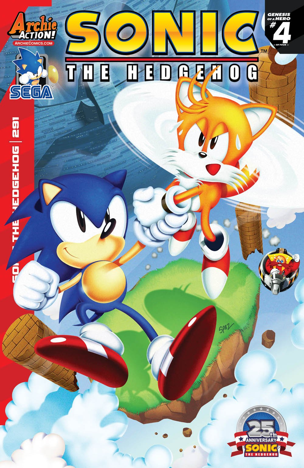 Archie Sonic The Hedgehog Issue 291 Sonic News Network Fandom