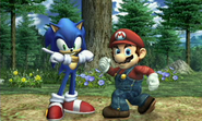 Super Smash Bros. Brawl - Sonic Joins the Brawl - Screenshot 3