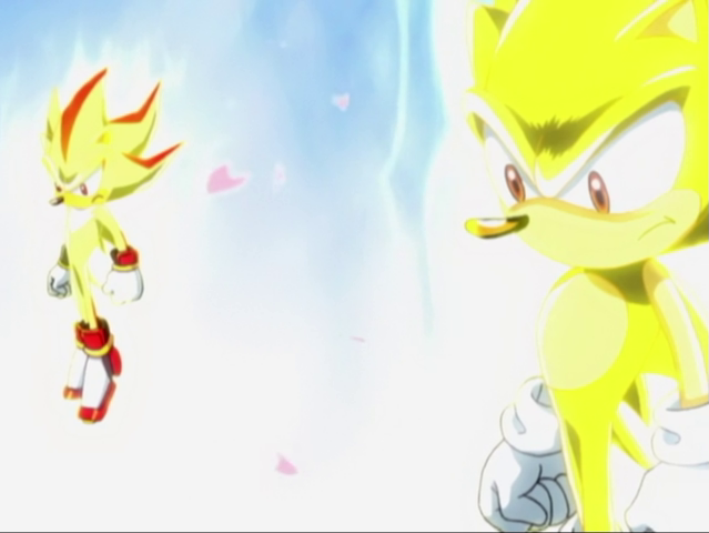 Image  Super Sonic and Super Shadowpng  Sonic News Network