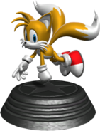 Generations statue Tails