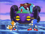 Just shoot them Robotnik, don't waste it!