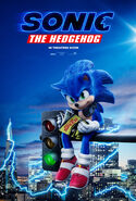 SonicMovie Poster TrafficLight