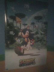 Sonic Colors poster