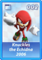 Card 002 (Sonic Rivals)