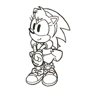Colorless Amy concept