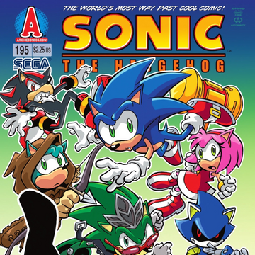 Archie Sonic The Hedgehog Issue 195 Sonic News Network Fandom