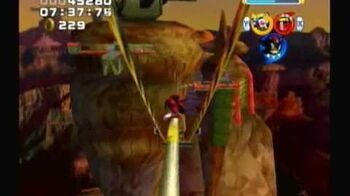 Sonic Heroes - Team Dark - Stage 8 Bullet Station (A-Rank)