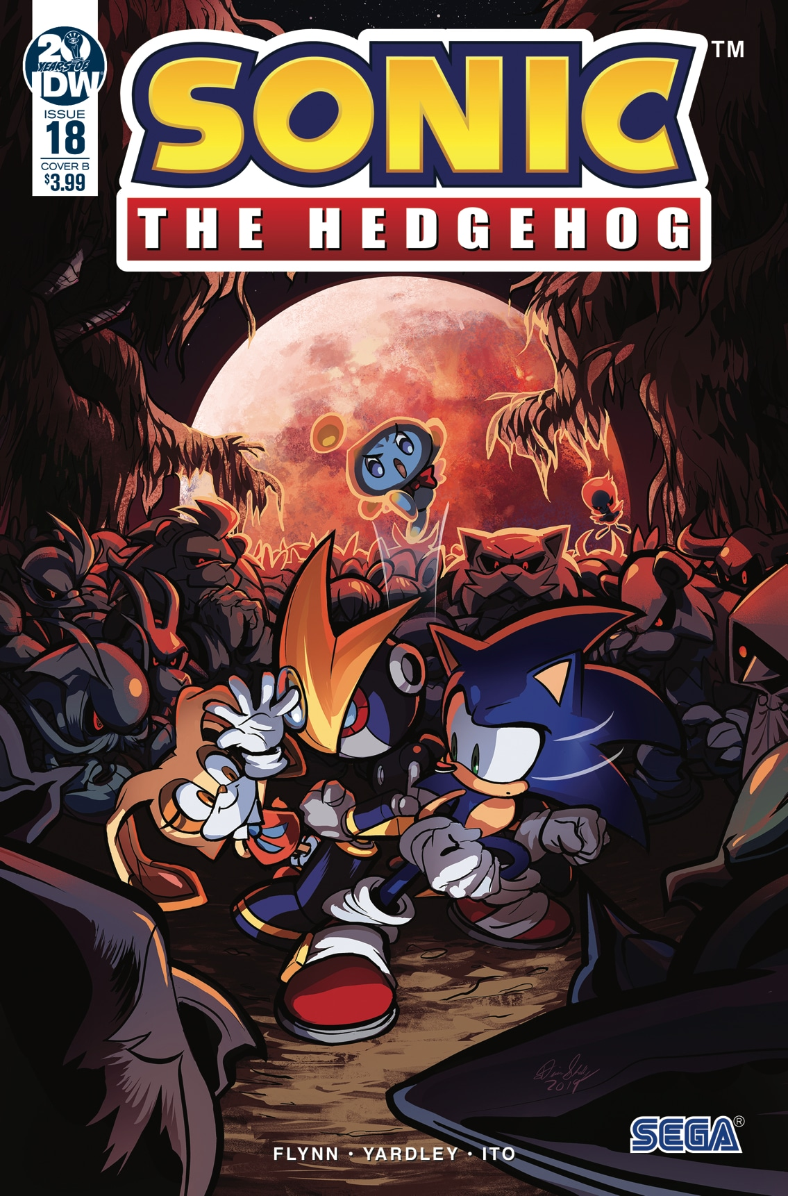 Idw Sonic The Hedgehog Issue 18 Sonic News Network Fandom
