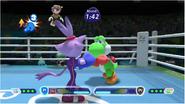 Mario & Sonic at the Rio 2016 Olympic Games - Blaze VS Yoshi Boxing