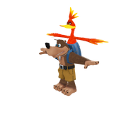 Sega Racing Model Banjo Kazooie
