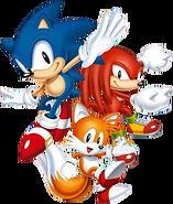 Sonic Mania Trio
