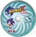 Sonic X Volume 10 disc