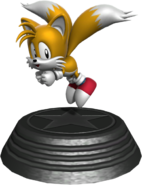 Generations statue Classic Tails