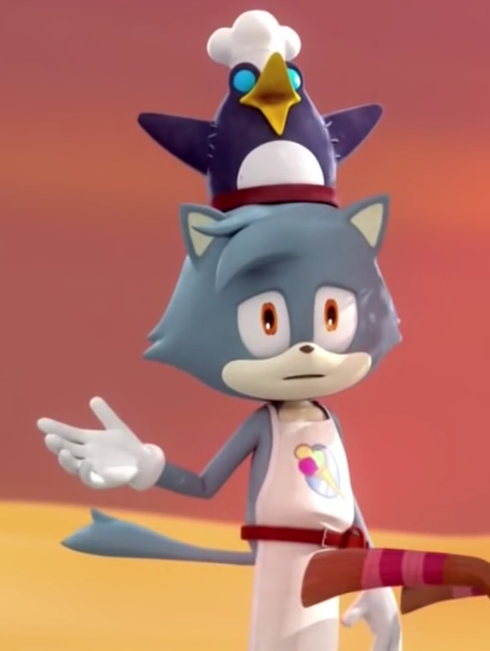 Ice Cream Vendor Sonic Boom