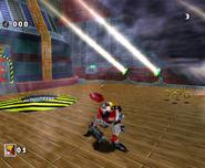 SA Gamma vs Sonic DX 1