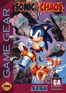 Sonic Chaos boxart NA