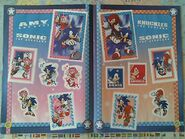 Sonic Sticker Collection pages 20-21
