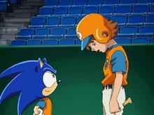 Sonic i Chris baseball