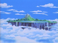 Sonic's and tails' private island