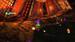 Sonic Lost World The Legend of Zelda Zone DLC Gameplay
