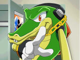 Vector the Crocodile (Sonic X)