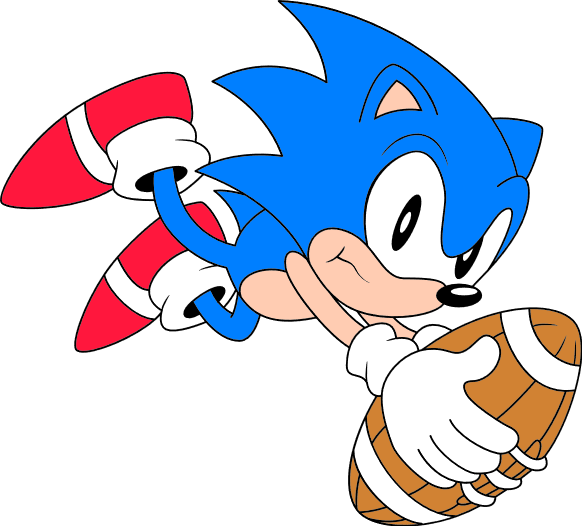 Classic sonic football-120px